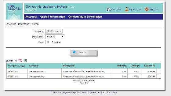 Software Development - CDB Owner Portal