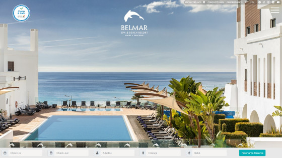 Web Design - Criação de Sites - Belmar Resort