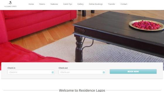 Web Design - Website Creation - ResidenceLagos